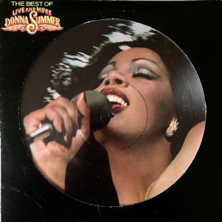 Donna Summer - The Best Of Live And More (LP) (Picture Disc) (VG/VG-)